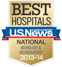 U.S. News and World Report - Neurology & Neurosurgery 2013-2014