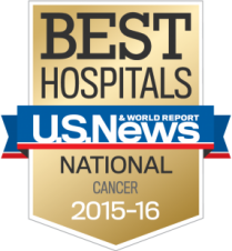 U.S. News & World Report national badge for cancer care