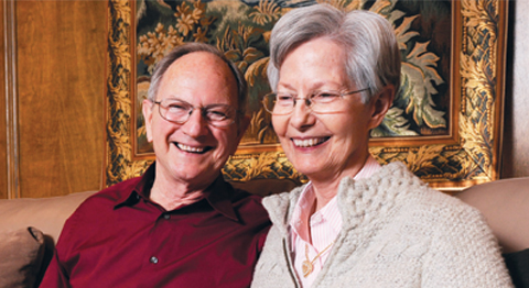 Jim and Lonna Atkins are active participants in several studies at the Alzheimer's Disease Center.