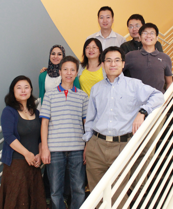 Chun-Li Zhang, Ph.D., and his team