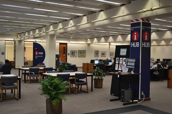 Library main floor