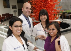 Members of the Latino Medical Student Association