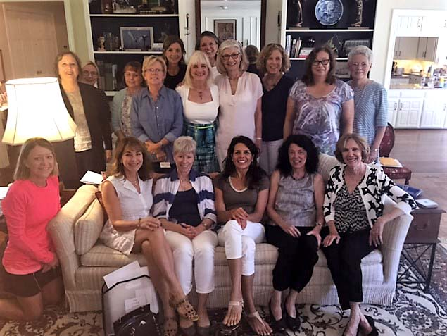 Faculty Women's Club group photo
