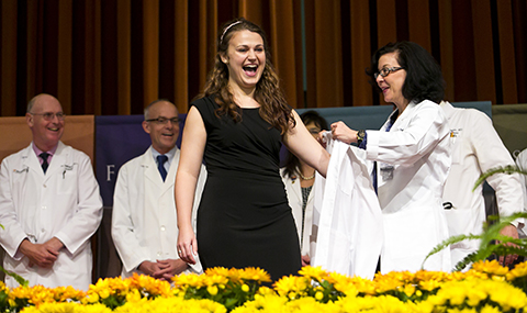 White Coat Ceremony: Bryan Williams, M.D. Student Center - UT ...