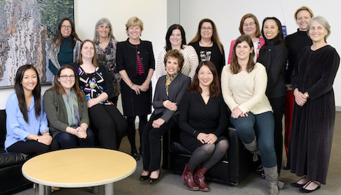WISMAC members are pictured with Mary V. Relling PharmD.