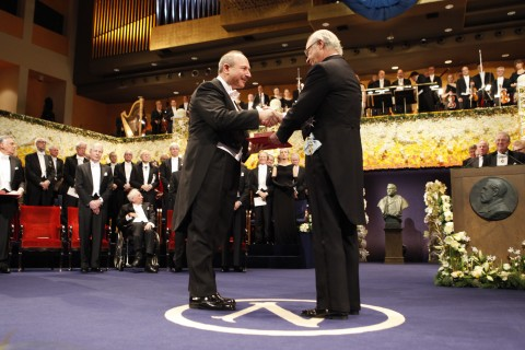 2011 Nobel Prize Ceremony