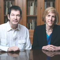 Dr. Jonathan and Dr. Helen Hobbs were honored with the Passano Award for research that connected genetics to lipid metabolism and heart disease.