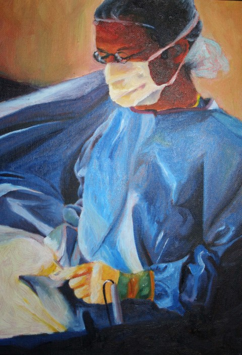 Portrait of a general surgeon at Medical City Hospital