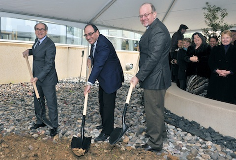 Cyclotron Groundbreaking