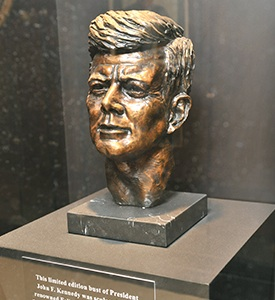 JFK Bust at Parkland