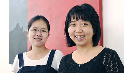 Drs. Hao Tang (left) and Yang Xie
