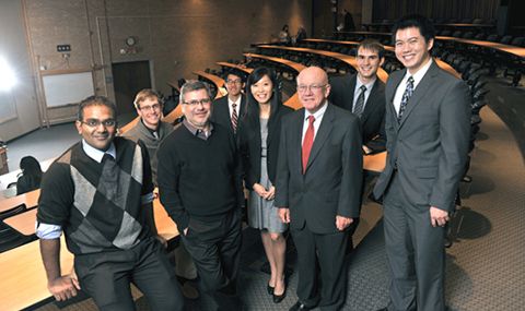 Medical students recognized at research forum: April 2014