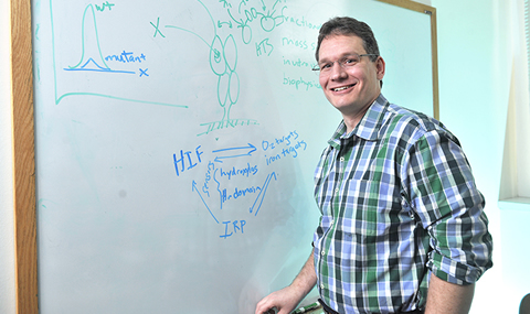 Dr. Richard Bruick, Associate Professor of Biochemistry