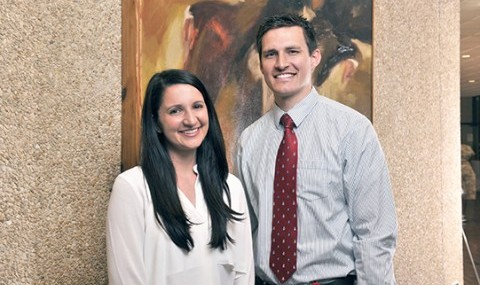 Dr. Shauna Goldman and Dr. Ryan Thorpe