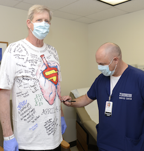 UT Southwestern physicians first in Texas to transplant