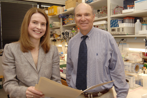 <p>Air pollution that incudes metal particles may lead to the development of lung cancer, researchers including Drs. Yvonne Coyle, associate professor of internal medicine, and John Minna, director of the Nancy B. and Jake L. Hamon Center for Therapeutic Oncology Research and the W.A.