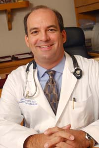 Dr. Steven Bloom, chairman of the department of obstetrics and gynecology, participated in a multicenter study investigating whether doctors' knowledge of fetal blood-oxygen levels — measured through fetal pulse oximetry — made a difference in the rate of Caesarean section or condition of the newborn infant.