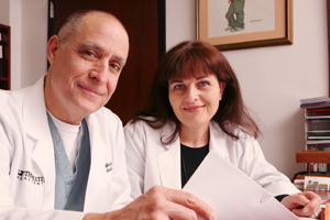 Drs. J. Michael DiMaio and Ildiko Bock-Marquette have found in mice that the molecule Thymosin beta-4 affects developmental gene expression in heart cells as early as 24 hours after systemic injection. The new findings suggest that introducing TB4 after a heart attack encourages new growth and repair of these cells.