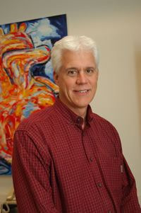 Dr. Eric Olson, chairman of molecular biology at <br>UT Southwestern Medical Center