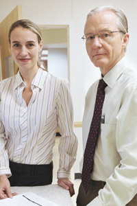 Drs. Warren Snodgrass and Nicol Bush found that their surgical technique to repair hypospadias, a common birth defect in boys, had a 95 percent success rate.