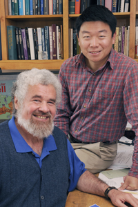 Research by Drs. Woodring Wright and Yong Zhao eventually could lead to new or improved cancer-fighting therapies that promote inhibition of the telomerase enzyme.
