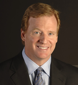 NFL Commissioner Roger Goodell is a featured speaker at a dinner for supporters of the Institute following the launch event.