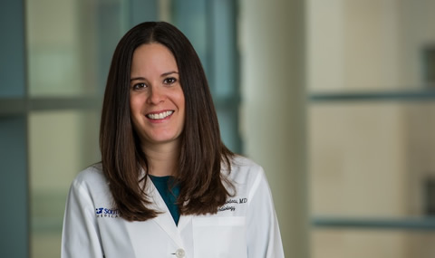 Dr. Jennifer Thibodeau, Assistant Professor of Internal Medicine in the Division of Cardiology