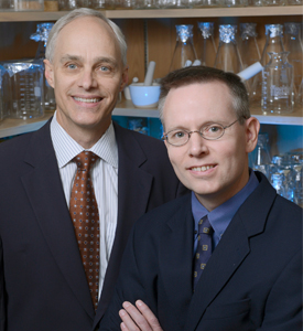 Dr. David Mangelsdorf and Dr. Steven Kliewer