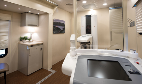3d mammography suite