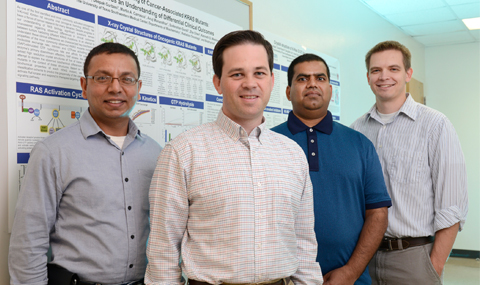 Team that developed a classification for cancers caused by KRAS, the most frequently mutated gene in cancer
