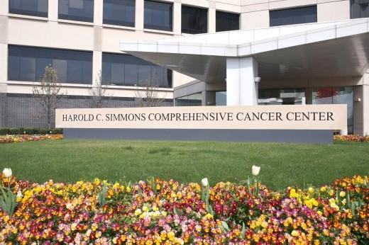 Simmons Cancer Center exterior