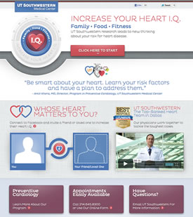 Heart IQ website