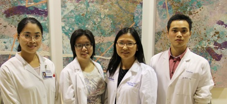 Yingfei Wang, M.D., and team