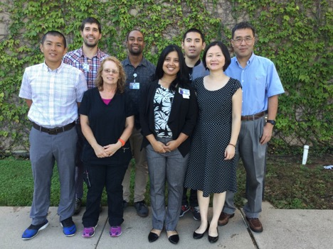 Rong Zhang, Ph.D., Kan Ding, M.D. and team
