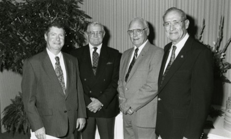 Former Deans of the UT Southwestern School of Health Professions.