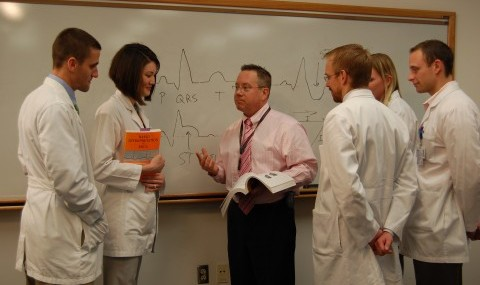 Physician Assistant students read echocardiograms