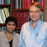 Drs. Richard Dewey and Shilpa Chitnis