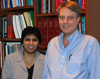 Doctors Shilpa Chitnis and Richard Dewey