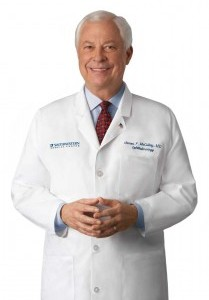 James P. McCulley, MD, Chair, Department of Ophthalmology