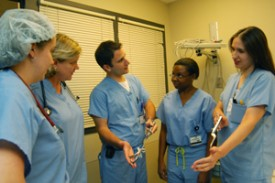 During the fourth year of medical school, students are offered elective rotations that cover all of the obstetrical and gynecological subspecialties.