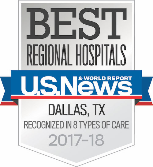 U.S. News & World Report ranks UT Southwestern as the No. 1 hospital in Dallas-Fort Worth