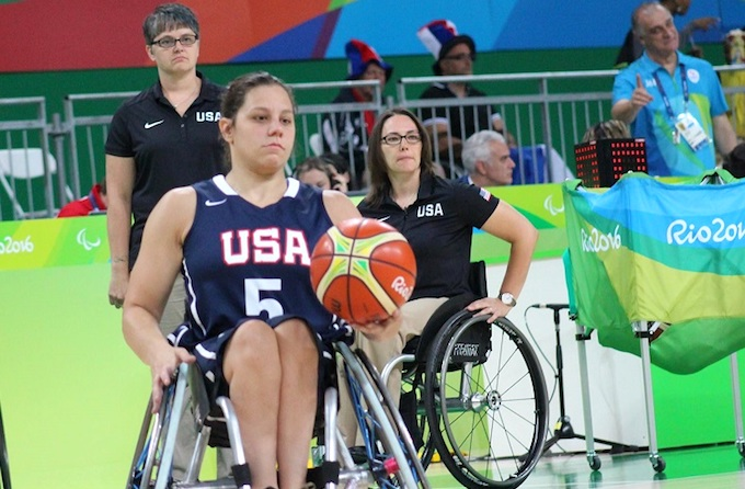 Darlene Hunter helped Team USA's wheelchair basketball team earn the gold medal in the 2016 Summer Paralympics in Rio de Janeiro. Ms. Hunter is now helping UT Southwestern raise awareness about the benefits of adaptive sports for people with mobility, cognitive, or visual impairments.
