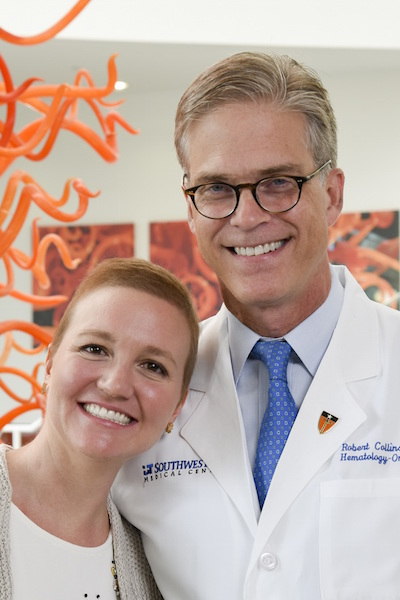 Ann Marie Herbst and Dr. Robert Collins