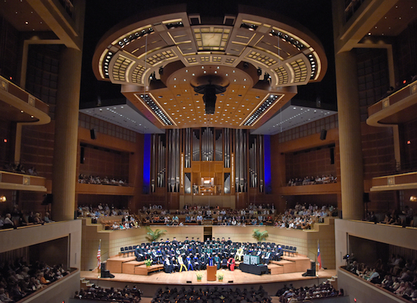 UT Southwestern Medical School commencement ceremonies at the Morton H. Meyerson Symphony Center
