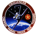 STS-7 Mission Badge