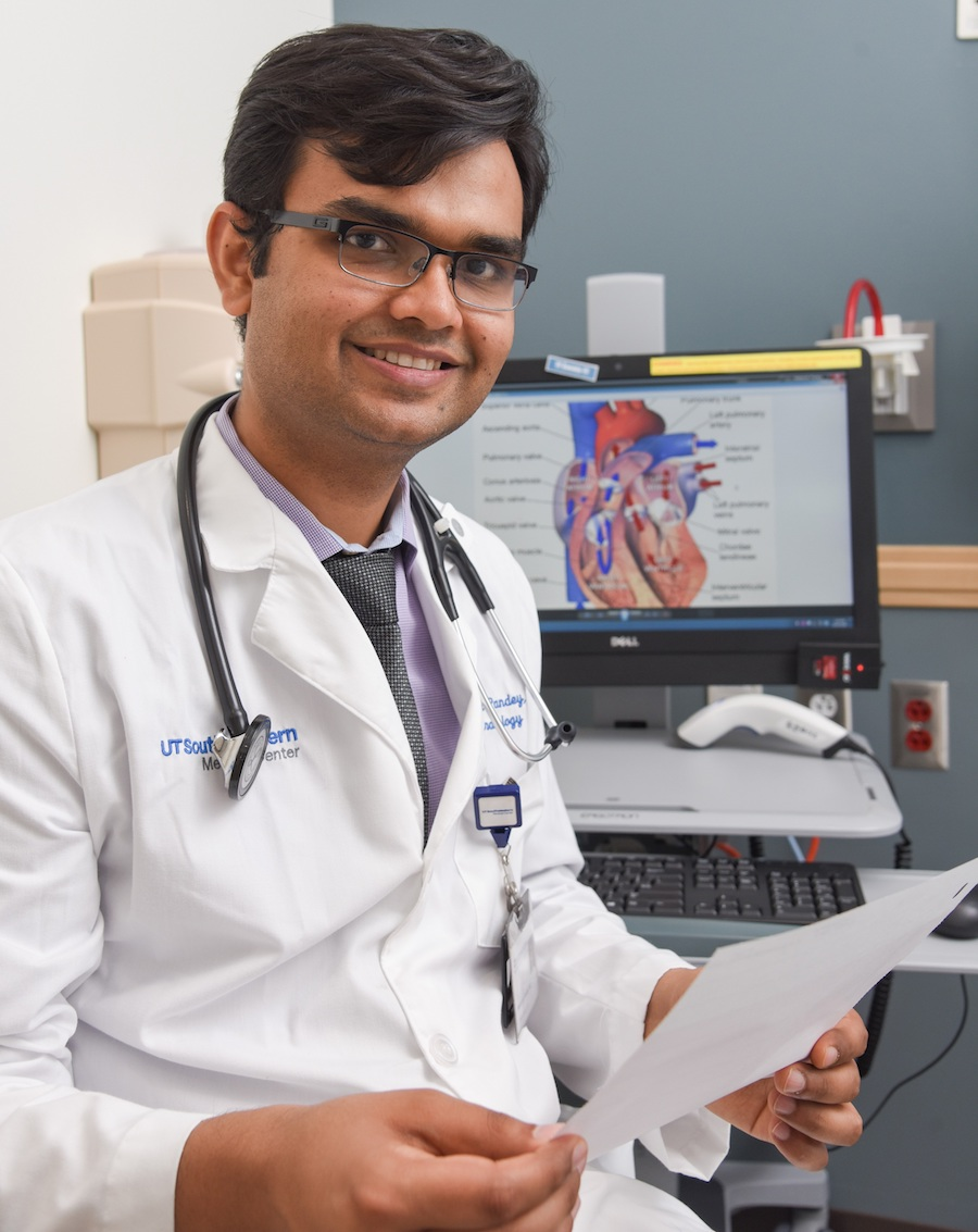 Cardiologist Dr  Ambarish Pandey selected Texas Health
