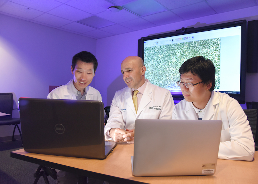 Dr. Yanbin Zheng, Dr. Stephen Skapek, and Dr. Lin Xu used a new algorithm to find gene changes associated with the childhood cancer rhabdomyosarcoma.
