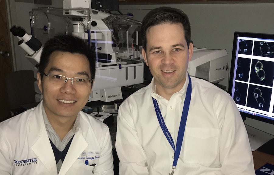 Dr. Kenneth Westover and Zhiewei Zhou