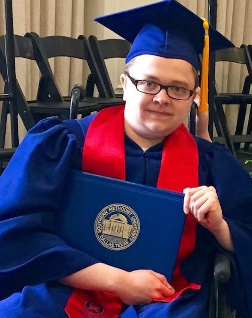 Ben Dupree's graduation