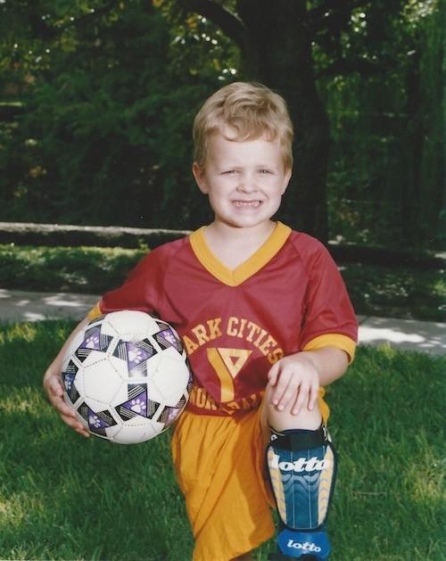 Ben Dupree's soccer portrait
